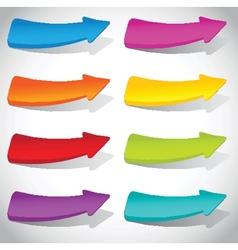 Vintage arrows set for your design vector