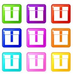 box set 9 vector image