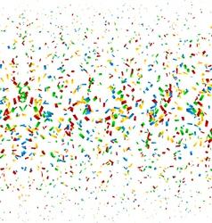 Confetti Background vector image vector image