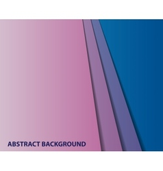 abstract geometric paper background vector image