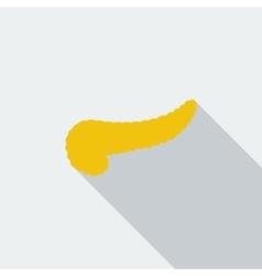 Pancreas icon vector image vector image