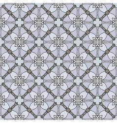 Seamless decorative retro pattern vector image