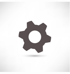 simply setting icon vector image vector image