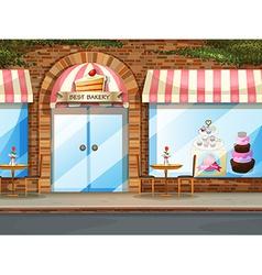 Bakery shop vector