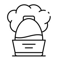cool humidifier icon outline style vector image