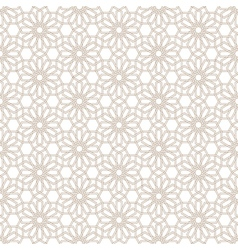 Delicate seamless pattern in arabian style vector