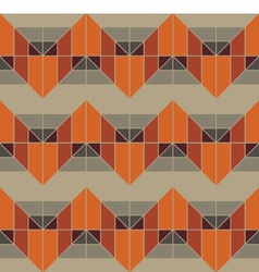 Geometric Grey Pattern vector image