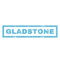 Gladstone Rubber Stamp vector image