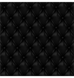 Leather background with buttons vector image
