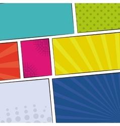 Pop art communication icons design vector