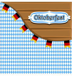 textured background with label and flags vector image