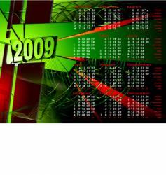 2009 calendar to see similar vector image
