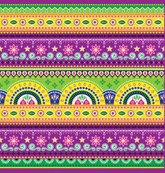 jingle trucks pattern pakistani truck art vector image vector image