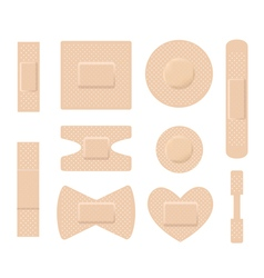 medical plasters vector image