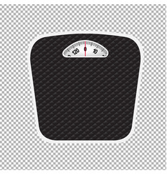 weight scale vector image