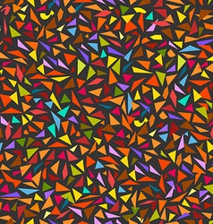 Abstract seamless background of color splinters vector image