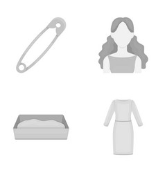 Atelier business tailoring and other web icon in vector