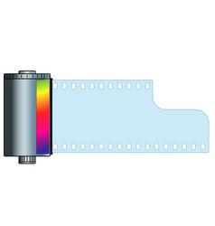 cassette film vector image