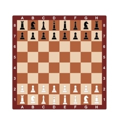 Chess board concept for vector