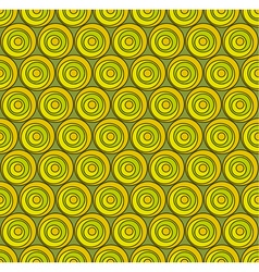 Circul shape 3d seamless pattern vector