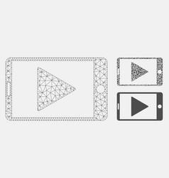Mobile start play mesh network model and vector