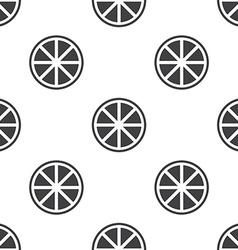 Orange seamless pattern vector