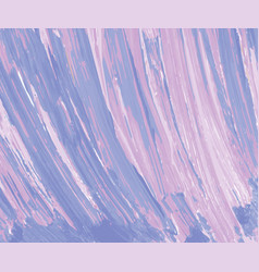 purple pink brushstrokes background vector image