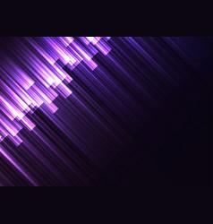 Purple speed bar overlap in dark background vector