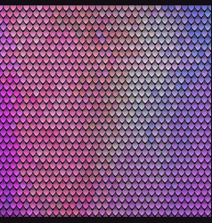 scaly pattern scales of the fairy dragon vector image