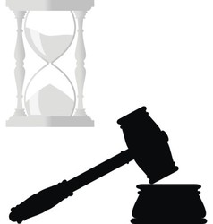 symbols of law vector image