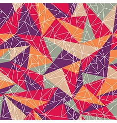 Geometric colorful pattern vector