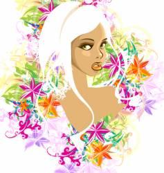 cartoon face design vector image vector image