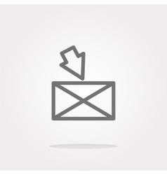 mail Icon mail Icon mail Icon Art mail vector image
