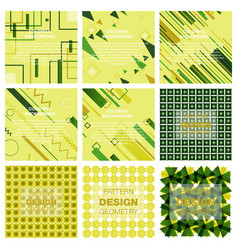abstract geometric pattern with lines rhombuses a vector image