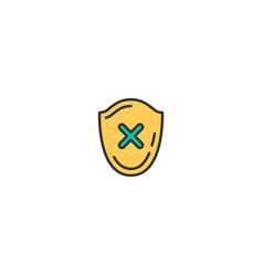 error icon design shopping icon design vector image