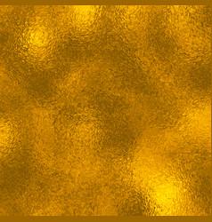 golden foil texture vector image