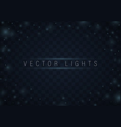 light effect set vector image