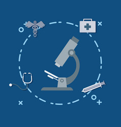 medical service design vector image