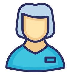Miss icon which can easily modify or edit vector