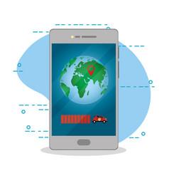 online order delivery vector image
