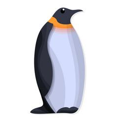 penguin icon cartoon style vector image