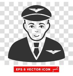 Pilot EPS Icon vector