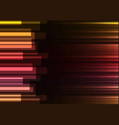 red speed bar overlap in dark background vector image