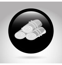 towels spa vector image