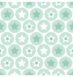Turquoise seamless pattern on white background vector image