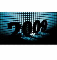 New Year 2009 vector image vector image