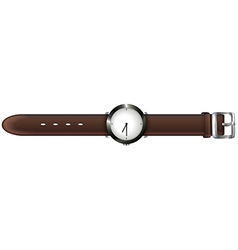 A topview of a watch vector image vector image