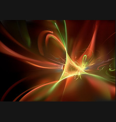 Abstract background with light waves vector