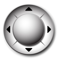 Control button template interface ui element vector