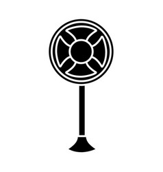 Fan icon image vector